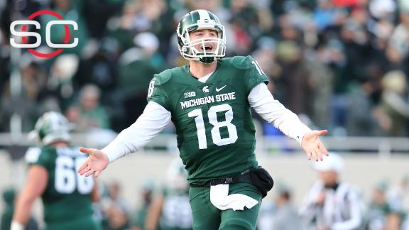 Michigan State wins, earns spot in Big Ten title game