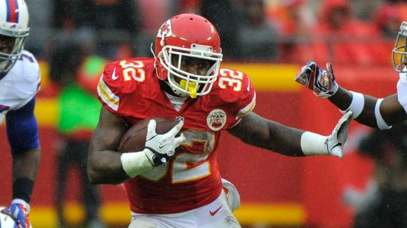 Chiefs depth at running back is paying off