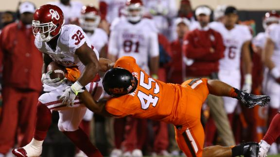 Sooners run wild amid Bedlam, win Big 12 title
