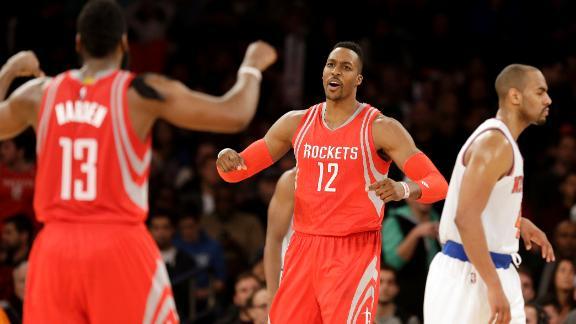 Rockets beat Knicks in OT