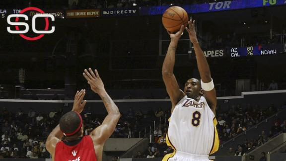 Kobe's top ten plays of his career