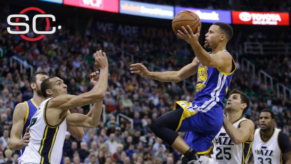 Strauss: Warriors 'hustle' Jazz, improve to 19-0