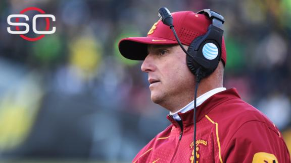 USC hires Clay Helton as permanent coach