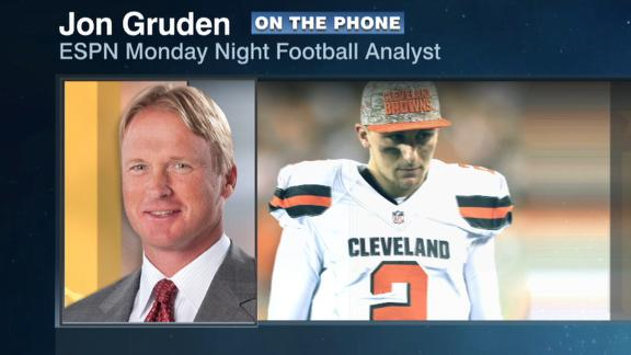 Gruden: Browns should forget about Manziel's past