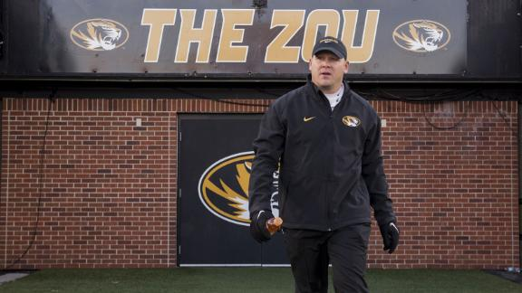 Barry Odom named Mizzou football head coach