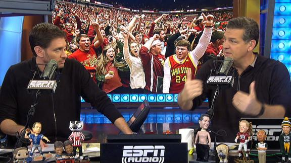 Should columnist's injury result in court storming changes?