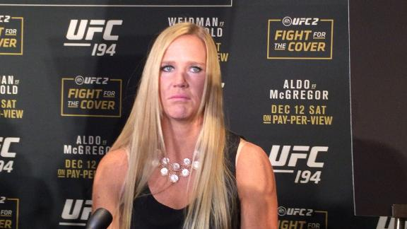 Holm talks possible fight at UFC 200