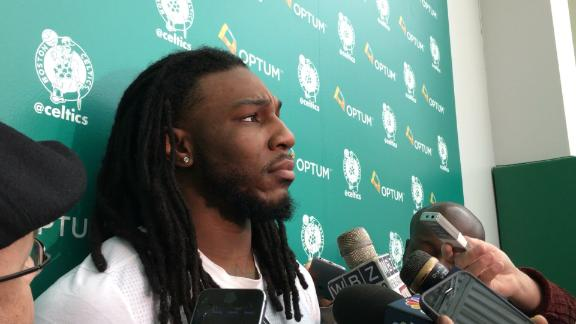 Jae Crowder on seeing the Cavs -- and JR Smith -- again