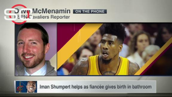 Iman Shumpert helps as fiance gives birth in bathroom