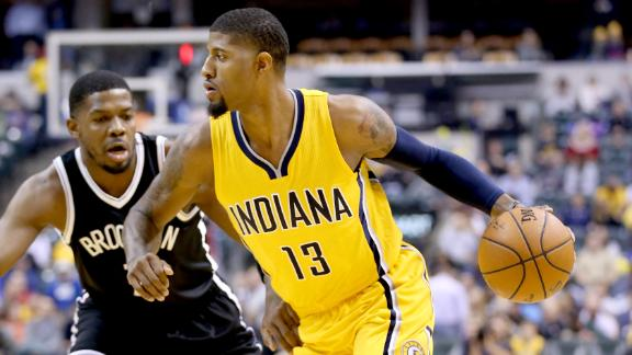 George, Pacers win third straight