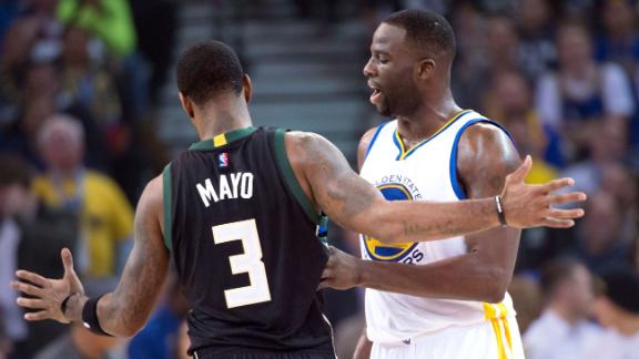 Draymond Green, O.J. Mayo involved in postgame scuffle
