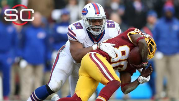 Preston Brown: Coaches sending in play calls too late