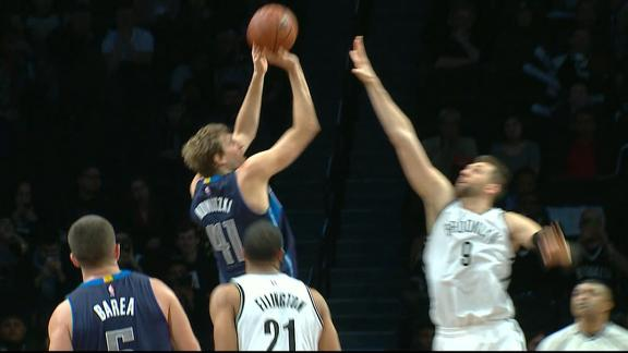 Dirk passes Shaq on all-time scoring list