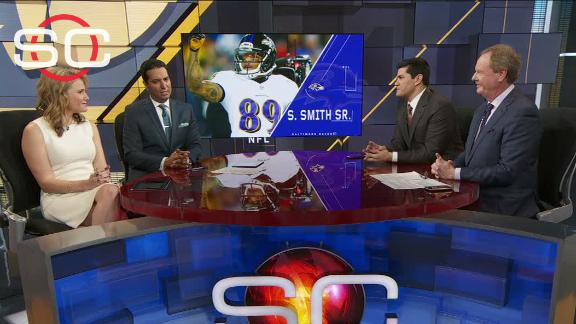 Bruschi: No surprise Steve Smith Sr. returning to NFL