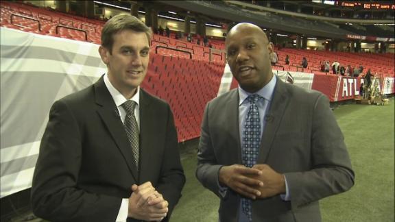 Video - Julio Jones, Drew Brees get the season game balls for Falcons, Sa...