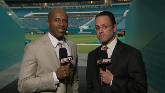 Video - Patriots' Brady, Dolphins' Landry get season game balls