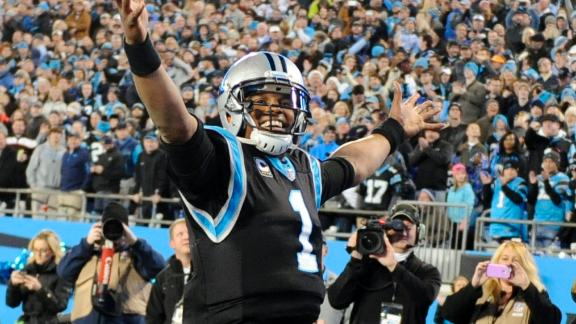 Video - Cam Newton makes his case for MVP
