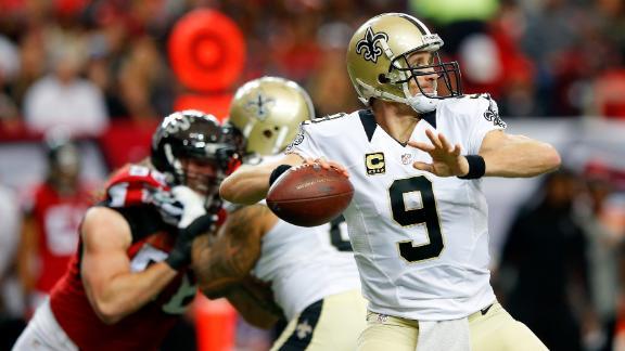 Video - Saints fend off Falcons in NFC South showdown