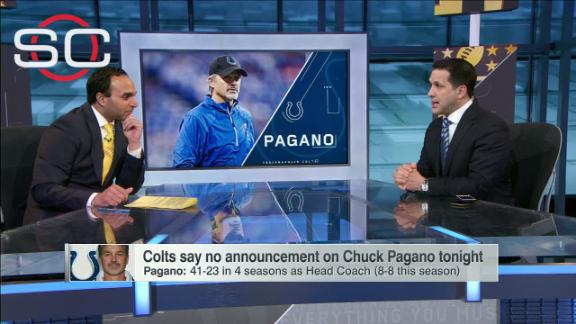 Is there a chance the Colts keep Pagano?