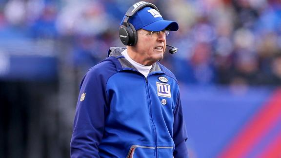 Tom Coughlin resigns as Giants coach