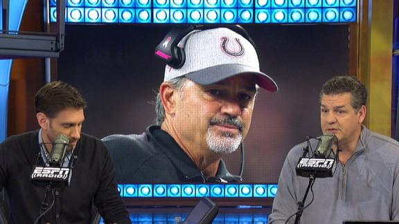 Video - Can Colts' Pagano, Grigson set aside differences for the team?