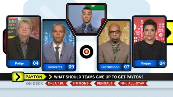 Video - Is it reasonable to give up a first rounder for Payton?