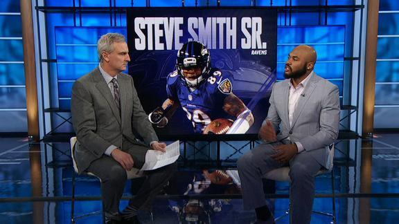 Video - Steve Smith Sr. praises Josh Norman