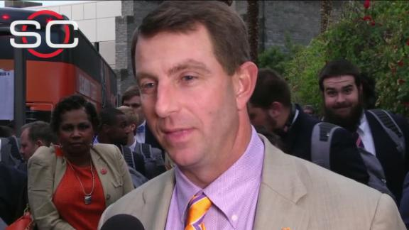 Dabo: 'We just do what we do'