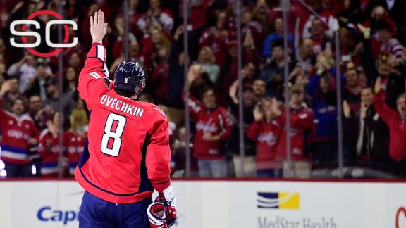 Ovechkin on 500th goal: 'It's a huge honor for me'
