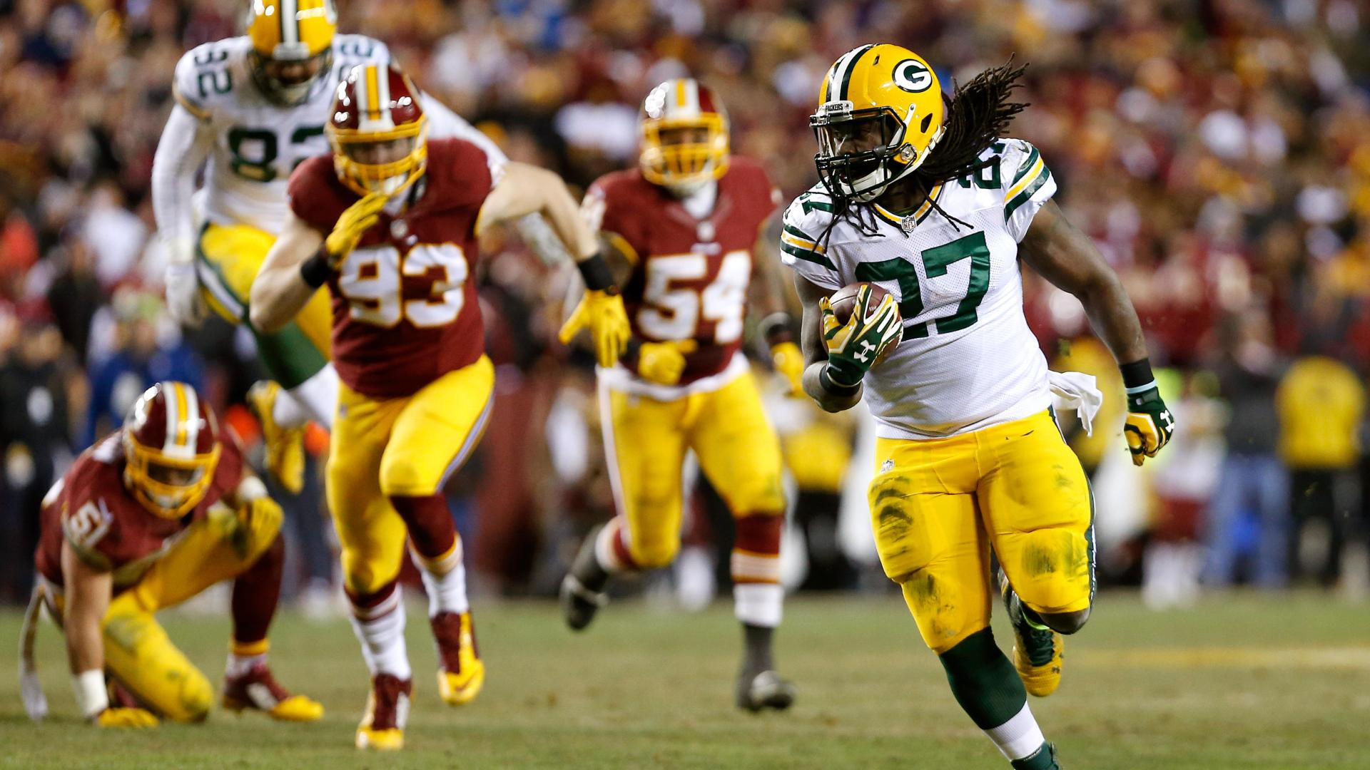 Packers' offense flips the switch