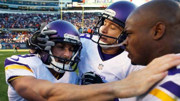 Video - More to blame for Vikings' loss: Walsh or Peterson?