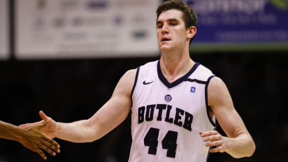 Butler's Final Four center Andrew Smith dies at age 25