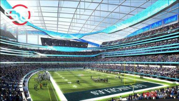 Video - Rams, Chargers gain approval to relocate to Los Angeles