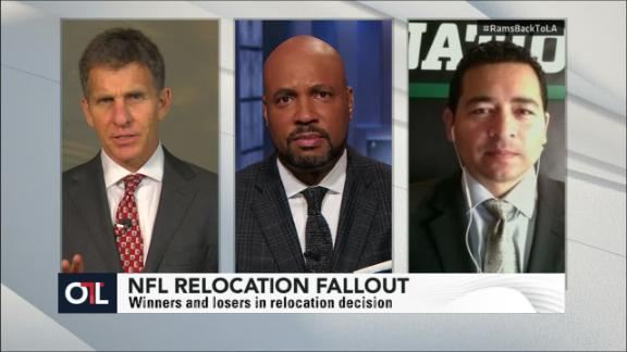Video - OTL discussion: Rams returning to L.A.