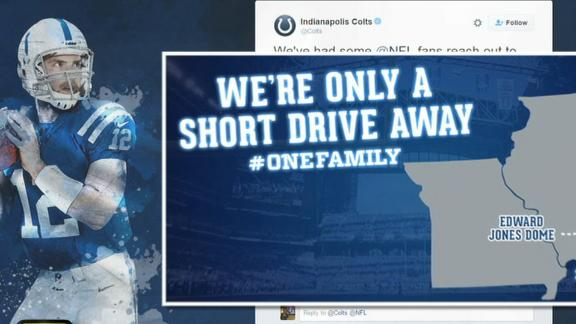 Video - Colts recruit Rams fans on social media