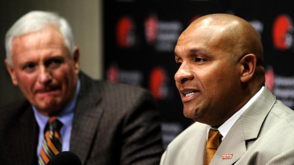 Video - Hue Jackson: NFL needs to hire more minority coaches
