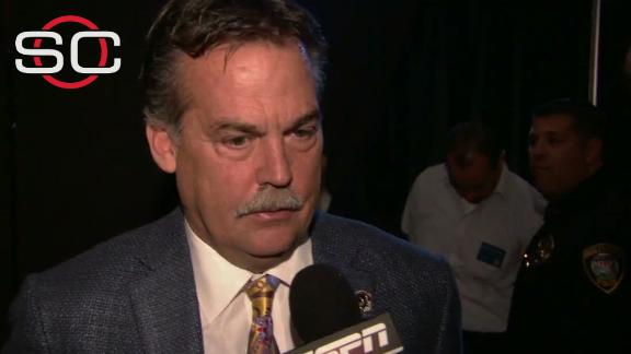Video - Fisher: 'There's a bittersweet aspect to this'