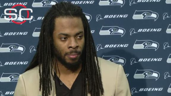 Sherman: 'I think people get confused, like our QB is 38'