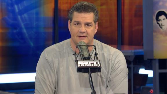 Video - Golic on Amendola: 'See what you hit'