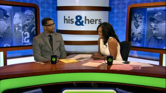 Video - His and Hers trolls Chiefs' two-minute offense
