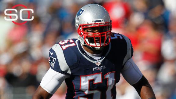 Patriots place LB Jerod Mayo on injured reserve