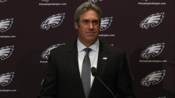 Video - Pederson: It's my job to turn the Eagles around