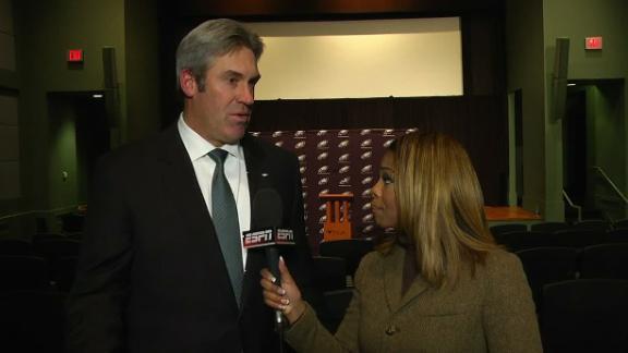 Video - Pederson evaluating Philadelphia's key personnel