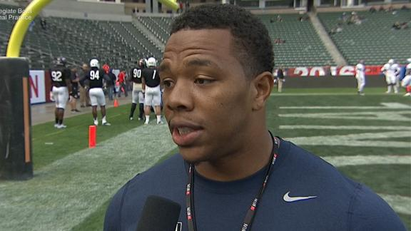 Video - Ray Rice's on-and-off field coaching lessons