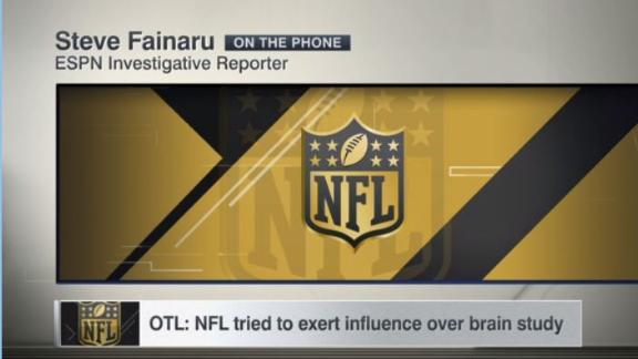 OTL: NFL tried to exert influence over brain study