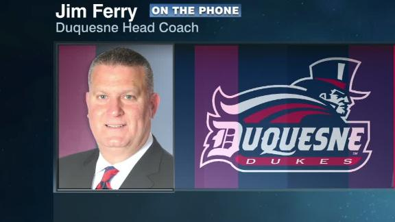 Duquesne's coach: We're just plugging along