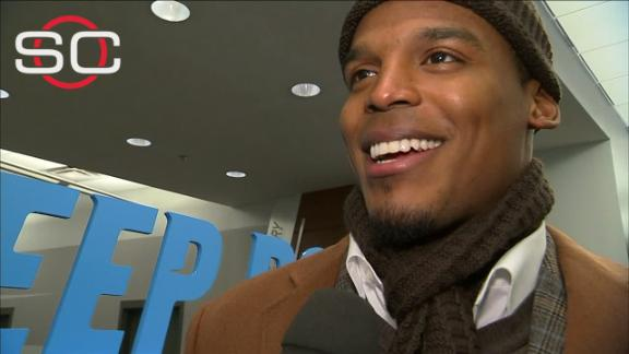 Video - Newton: 'I'm just doing what a lot of people said I couldn't do'