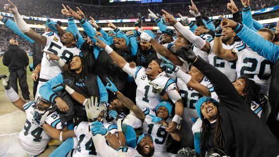 Video - Panthers demolish Cardinals, punch ticket to Super Bowl