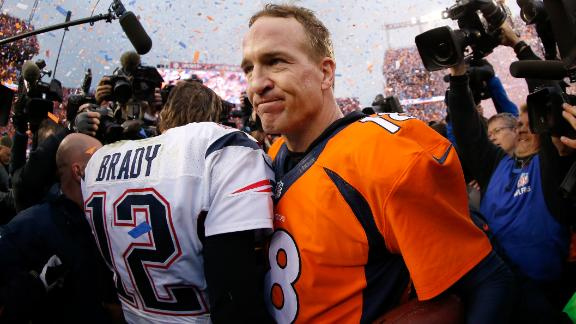 Manning bests Brady as Broncos head to Super Bowl 50