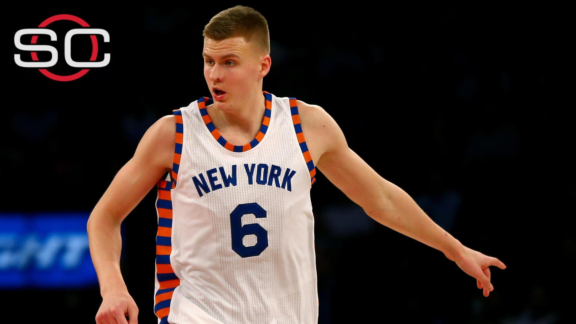 Porzingis among top NBA jersey sales
